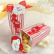 About to Pop! Popcorn Baby Shower Favor Box 24ct