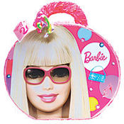 Pull String Barbie Purse Pinata 23in