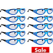 Child Seattle Mariners Glasses 10ct