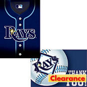 Tampa Bay Rays Invitations & Thank You Notes for 8