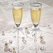 Basic Wedding Toasting Glasses