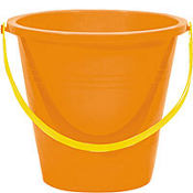 Orange Large Pail 9in