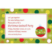Holiday Buzz 1 Custom Invitation