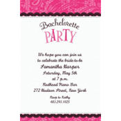 Bachelorette Party Custom Invitation