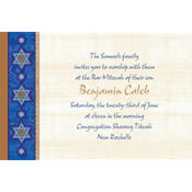Judaic Traditions Custom Invitation
