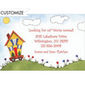 House on Wheels Custom Invitation