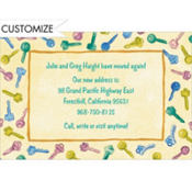 Keys Border Custom Invitation