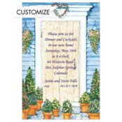 Country Front Door Custom Invitation