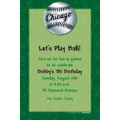 Chicago White Sox Custom Invitation