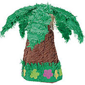 Palm Tree Pinata 18in