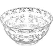 Clear Plastic Punch Bowl 14 1/4in