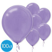 Purple Latex Balloons 12in 100ct