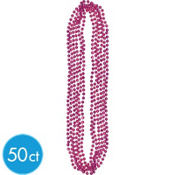 Burgundy Beads 30in 50ct
