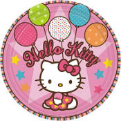 Hello Kitty Balloon Dreams Lunch Plates 8ct