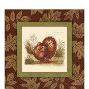 Thanksgiving Sophistication Dinner Napkins 16ct