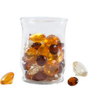 Diamond Scatter Gold Amber