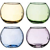 Assorted Votive Candle Holders 4ct