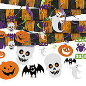 Halloween Large Room Decorating Kit 22pc