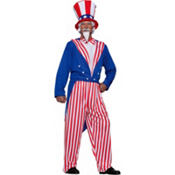 Adult Uncle Sam Costume Plus Size
