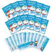 Winter Fun Coloring Activity Kit 12ct