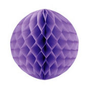 Purple Honeycomb Ball 11in