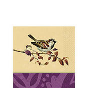 Garden View Trendy Beverage Napkins 16ct