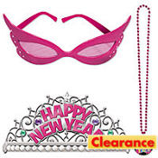 Hot Pink New Years Costume Set 5pc