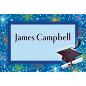Dazzling Grad Custom Thank You Notes