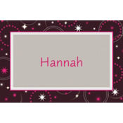 Sweet 16 Sparkle Custom Thank You Note