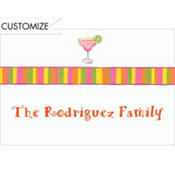 Frozen Margarita Custom Thank You Note