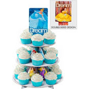 Disney Princess Cupcake Stand Holds 24