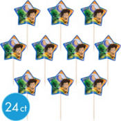 Toy Story Cupcake Picks 24ct