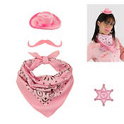 Mini Cowgirl Costume Kit