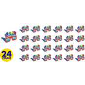 Balloon Fun Birthday Glasses 24ct
