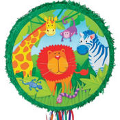 Jungle Animals Pinata 17in