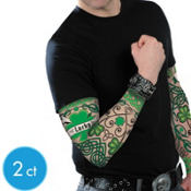 St. Patricks Day Tattoo Sleeves 2ct