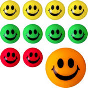 Smile Bounce Balls 48ct