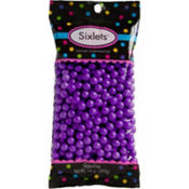 Purple Chocolate Sixlets 450pc