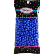 Royal Blue Chocolate Sixlets 450pc