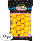 Yellow Gumballs 55pc