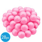 Light Pink Gumballs 28pc