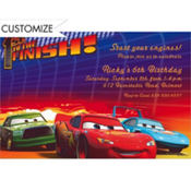 1st to the Finish Custom Invitation