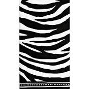 Modern Zebra Guest Towels 16ct