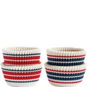 Mini Patriotic Baking Cup 100ct