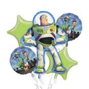 Toy Story Balloon Bouquet 5pc