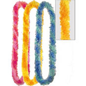 Multicolor Fiesta Poly Leis 36in 3ct