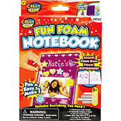 Fun Foam Notebook Color Zone