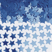 Mini Blue Star Confetti 0.25oz