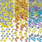 Happy Birthday Stars Confetti 1.2oz
