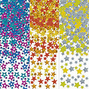 Multi Color Stars Confetti 1.2oz